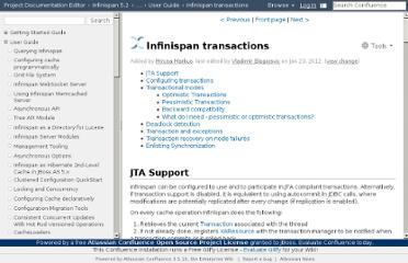 https://docs.jboss.org/author/display/ISPN/Infinispan+transactions