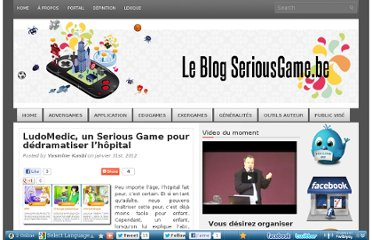 http://blog.seriousgame.be/ludomedic-un-serious-game-pour-ddramatiser-lhpital