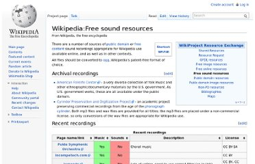 http://en.wikipedia.org/wiki/Wikipedia:Free_sound_resources