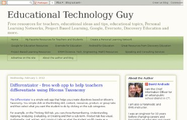 http://educationaltechnologyguy.blogspot.com/2012/02/differentiator-free-web-app-to-help.html