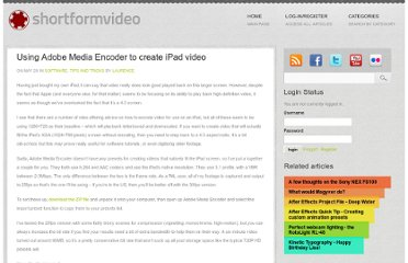 http://shortformvideo.com/blog/2010/05/using-adobe-media-encoder-to-create-ipad-video/