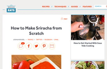 http://www.seriouseats.com/2012/02/how-to-make-sriracha-from-scratch-sauces.html