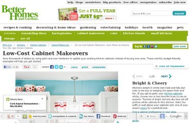 http://www.bhg.com/kitchen/cabinets/makeovers/low-cost-kitchen-cabinet-makeovers/