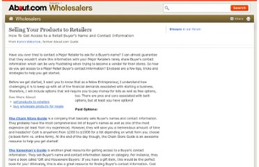http://wholesalers.about.com/od/Sellproductstomajorretail/a/How-Do-I-Get-Access-To-A-Retail-Buyers-Name-And-Contact-Information.htm