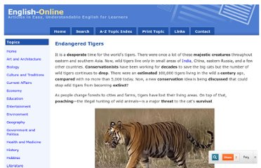 http://www.english-online.at/environment/endangered-tigers/how-endangered-tigers-can-survive.htm