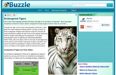 http://www.buzzle.com/articles/endangered-tigers.html