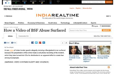 http://blogs.wsj.com/indiarealtime/2012/02/01/how-a-video-of-bsf-abuse-surfaced/