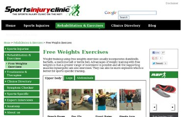 http://www.sportsinjuryclinic.net/rehabilitation-exercises/free-weights-exercises