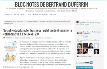 http://www.duperrin.com/2010/02/18/social-networking-for-business-petit-guide-dingenierie-collaborative-a-lheure-du-2-0/