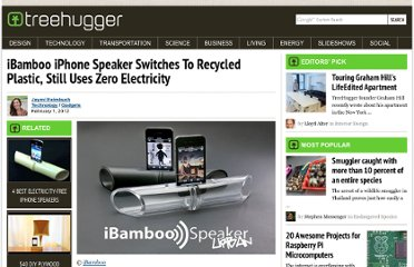 http://www.treehugger.com/gadgets/ibamboo-iphone-speaker-switches-to-recycled-plastic-still-uses-zero-electricity.html