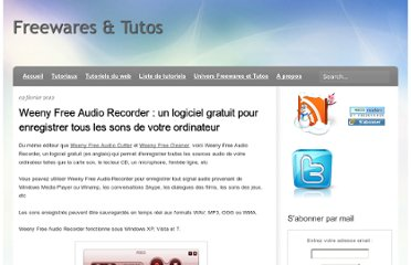 http://freewares-tutos.blogspot.com/2012/02/weeny-free-audio-recorder-un-logiciel.html