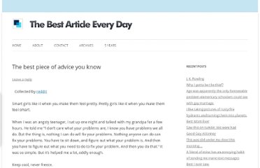 http://www.bspcn.com/2012/02/01/the-best-piece-of-advice-you-know/