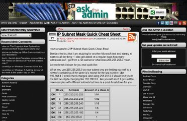 http://www.asktheadmin.com/2009/12/ip-subnet-mask-quick-cheat-sheet-2.html