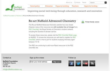 http://www.nuffieldfoundation.org/react-nuffield-advanced-chemistry