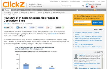 http://www.clickz.com/clickz/news/2142420/pew-store-shoppers-phones-comparison-shop