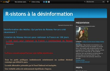 http://anti-fr2-cdsl-air-etc.over-blog.com/article-desinformation-des-medias-qui-parlera-du-reseau-vercors-cree-recemment-98107392.html