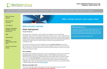 http://www.datasolutionservices.co.uk/nvivo-training-calender.php?s=66&subs=68