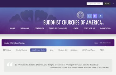 http://buddhistchurchesofamerica.org/jodo-shinshu-center