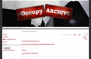 http://www.occupyarchive.org/collections
