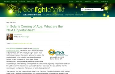 http://thegreenlightdistrikt.com/2011/04/18/in-solars-coming-of-age-what-are-the-next-opportunities/