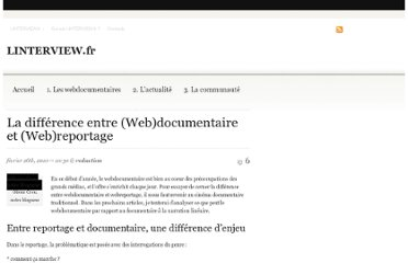http://linterview.fr/new-reporter/la-difference-entre-webdocumentaire-et-webreportage/