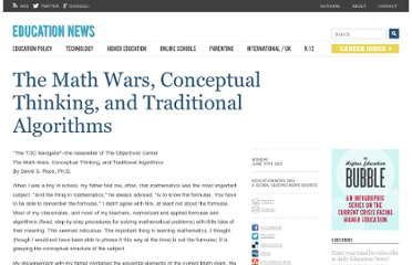 http://www.educationnews.org/articles/the-math-wars-conceptual-thinking-and-traditional-algorithms-.html
