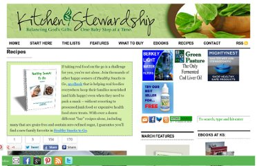 http://www.kitchenstewardship.com/recipes/