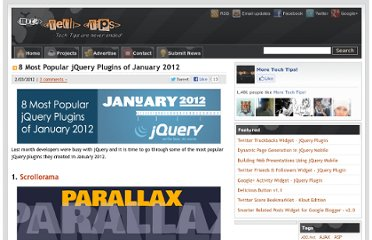http://www.moretechtips.net/2012/02/8-most-popular-jquery-plugins-of.html