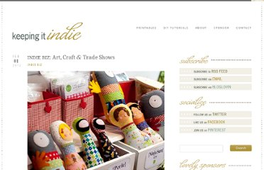 http://www.keepingitindie.com/indiebiz/indie-biz-art-craft-trade-shows