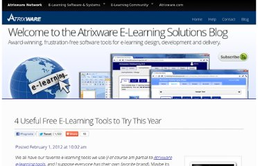 http://www.atrixware.com/blog/wp/4-useful-free-e-learning-tools-to-try-this-year/