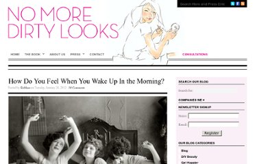 http://nomoredirtylooks.com/2012/01/how-do-you-feel-when-you-wake-up-in-the-morning/
