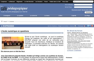 http://www.cafepedagogique.net/lexpresso/Pages/2012/02/ecolenuleriquesenquestions.aspx