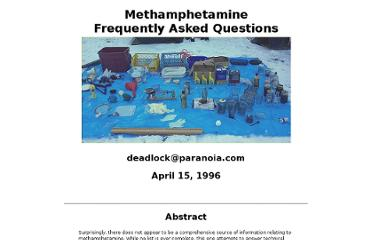 http://amphetamines.com/methamphetamine-faq/index.html