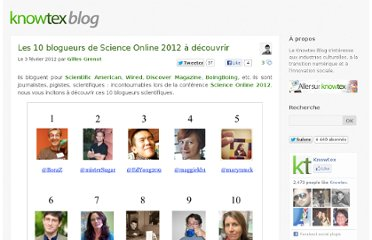 http://www.knowtex.com/blog/blogueurs-science-online-2012/