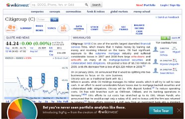 http://www.wikinvest.com/stock/Citigroup_(C)