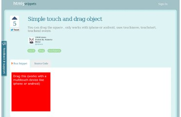 http://html5snippets.com/snippets/17-simple-touch-and-drag-object