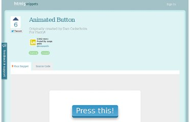 http://html5snippets.com/snippets/29-animated-button