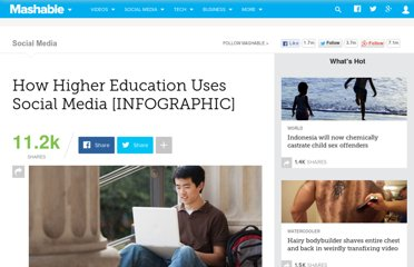 http://mashable.com/2012/02/03/higher-education-social-media/