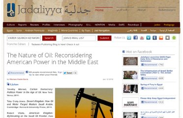 http://www.jadaliyya.com/pages/index/4010/the-nature-of-oil_reconsidering-american-power-in-