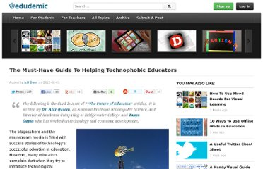 http://edudemic.com/2012/02/technophobic-teachers/