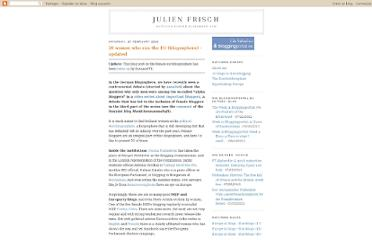 http://julienfrisch.blogspot.com/2010/02/20-women-who-run-eu-blogosphere.html