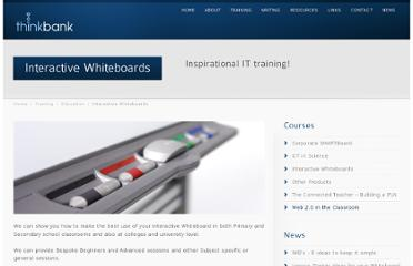 http://www.think-bank.com/training/education/interactive-whiteboards/