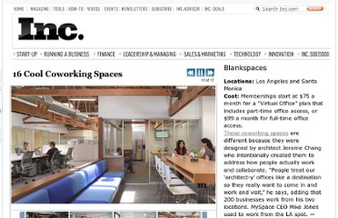 http://www.inc.com/ss/christina-desmarais/16-cool-coworking-spaces.html#16