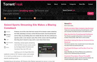 http://torrentfreak.com/seized-sports-streaming-site-makes-a-blazing-comeback-120203/