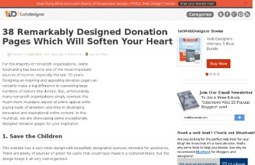 http://www.1stwebdesigner.com/inspiration/remarkably-designed-donation-pages/