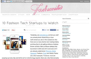 http://fashionista.com/2012/02/10-fashion-tech-startups-to-watch/