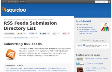 http://www.squidoo.com/rss-feeds-directory