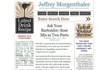 http://www.jeffreymorgenthaler.com/2007/ask-your-bartender-sour-mix-in-two-parts/