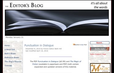 http://theeditorsblog.net/2010/12/08/punctuation-in-dialogue/