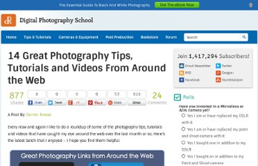 http://digital-photography-school.com/14-great-photography-tips-tutorials-and-videos-from-around-the-web
